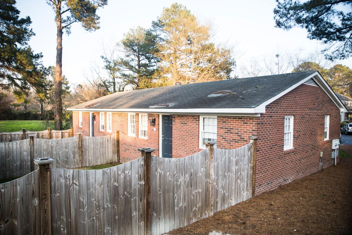 Stancill Duplex Backyard