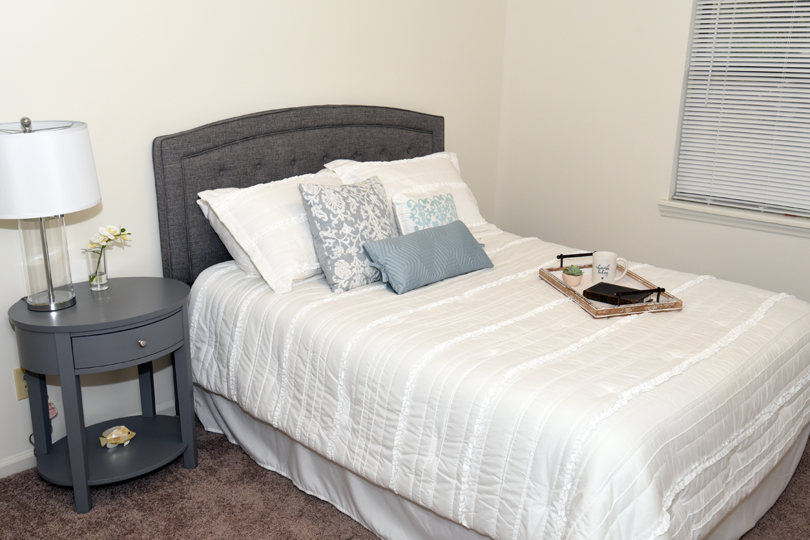 Wesley South at ECU & Brookfield at Lynndale - 2 Bedroom Small Bedroom